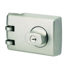 LOCKWOOD 355 DEAD LOCK SATIN CHROME PEARL