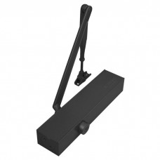 SABRE 835 HYDRAULIC DOOR CLOSER MATT BLACK